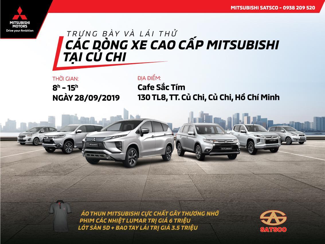 Trưng bày và lái thử các dòng xe cao cấp tại Củ Chi – Ngày 28/09/2019
