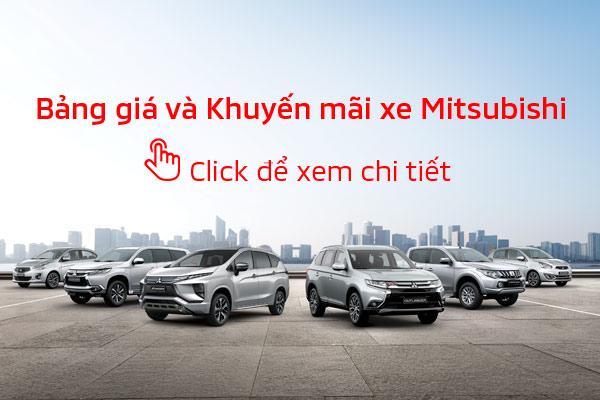 Bảng giá xe Mitsubishi tháng 09/2020
