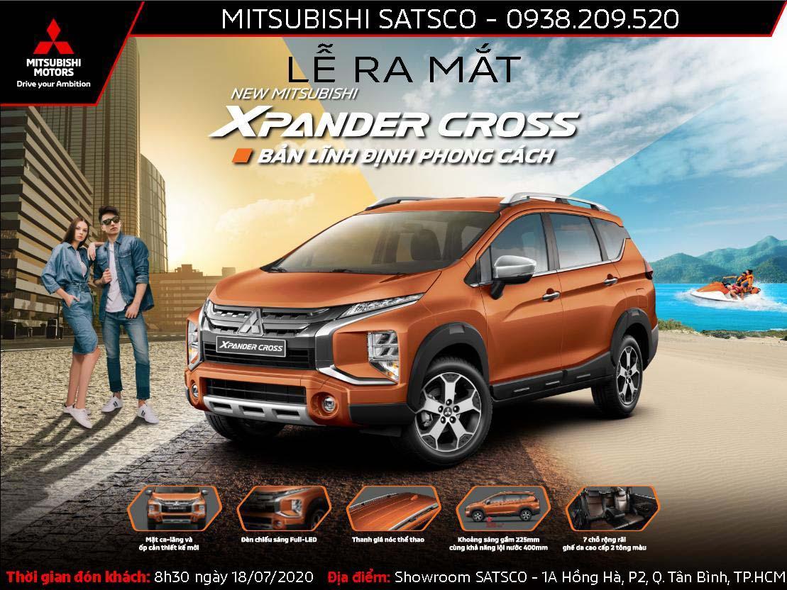 Lễ ra mắt NEW MITSUBISHI XPANDER CROSS – Bản lĩnh định phong cách